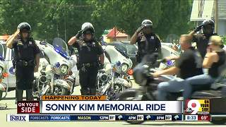 The annual Sonny Kim Memorial Ride celebrates the life and service of Ofc. Kim.