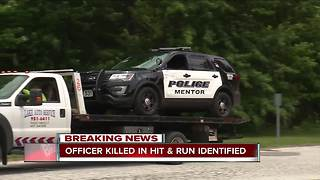 Dead Mentor police officer, hit and run suspect identified - Video