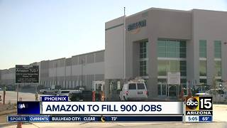 Amazon looking to hire hundreds in the Valley - Video