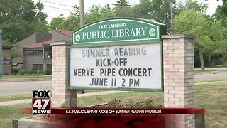 EL public library kicks off summer reading program - Video