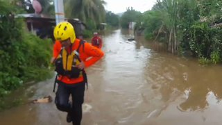 Tropical Storm Nate Brings Widespread Flooding to Panama - Video