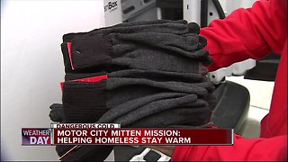 Motor City Mitten Mission: Helping homeless stay warm
