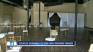 People stepping up to help brides and grooms affected by sudden venue closings - Video