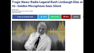 Golden Microphone Goes Silent, Rush Passes to a better place