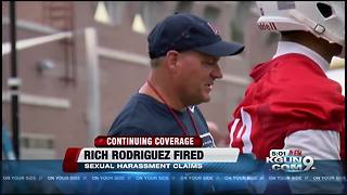 Arizona has fired football coach Rich Rodriguez - Video