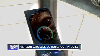 Verizon Wireless rolls out 5G internet service in Boise... for some devices
