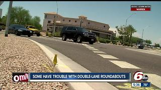 Study: Driving in 2-lane roundabouts raises crash rate - Video