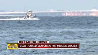 Coast Guard searching for possible missing man after unmanned jet ski found - Video