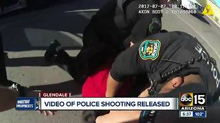 GRAPHIC: Body camera video shows Glendale police deadly shooting