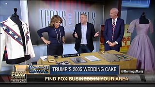 trump wedding cake - Video