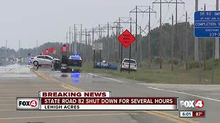 SR-82 Shut Down For Several Hours - Video