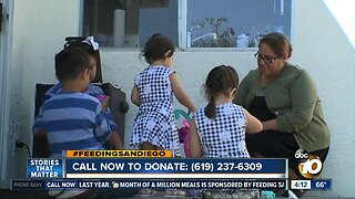 San Diego mom faces hunger