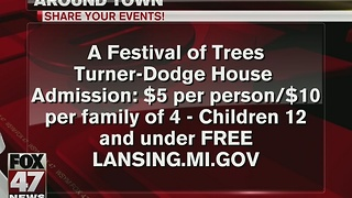 Turner-Dodge House hosts Festival of Trees - Video