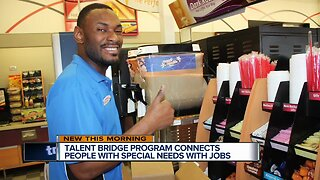 Talent bridge program connects people with special needs with jobs