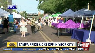 Tampa Pride returns to Ybor City for 5th year today