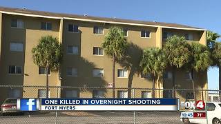 One Killed in Overnight Shooting - Video