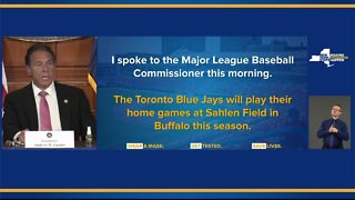 Governor Cuomo on Toronto Blue Jays playing in Buffalo