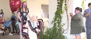 Vegas valley woman celebrates 100th birthday in style