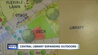 Central Library expands