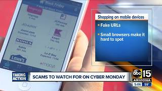 Scams to watch out for on Cyber Monday - Video