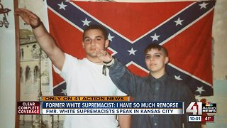 Former white supremacists now spread message of change