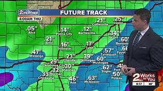 Forecast: Chance for rain continues