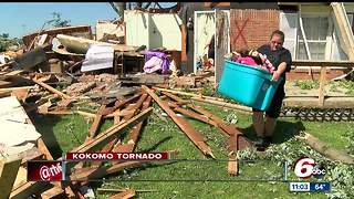 Kokomo communities still rebuilding one year after EF-3 tornado - Video