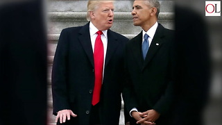 President Trump Beats Barack Obama By Four Points - Video