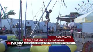Local fairs bracing for possible negative impact after Ohio State Fair tragedy - Video