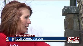 Gun control debate ramps up - Video