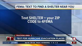 How to find the nearest hurricane shelter - Video