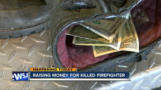 Raising money for San Diego firefighter killed fighting Thomas Fire - Video