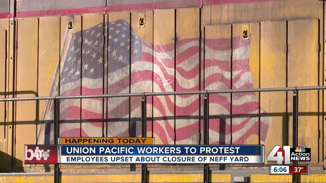 Union Pacific workers to protest