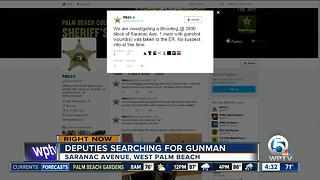 Shooting investigated in suburban West Palm Beach - Video