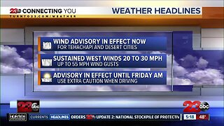 23ABC Morning Weather for Thursday, April 2, 2020