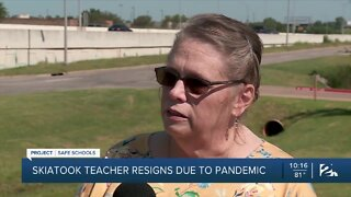 Skiatook teacher resigns over pandemic