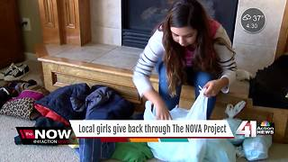 Olathe girls give thanks, give back for holidays - Video