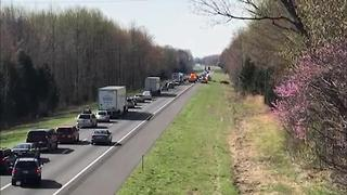 Traffic Backed Up After Deputy Hit, Injured On I-24 - Video