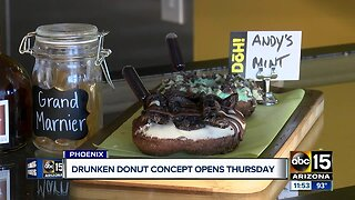 "Drunken doughnuts? ""Doh"" bringing alcohol-infused doughnuts to Phoenix"