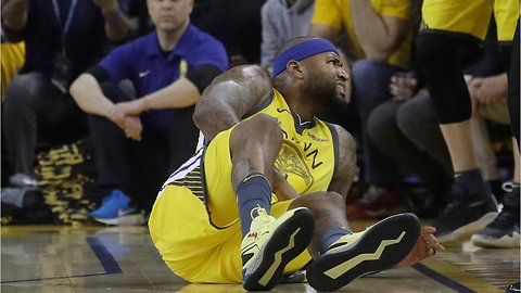 DeMarcus Cousins suffers another brutal season-ending injury