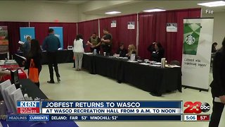 Kern Back In Business: JobFest comes to Wasco