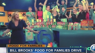 Bill Brooks' Food for Families Drive