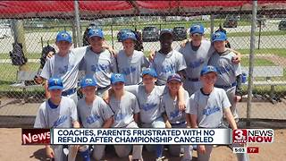 Coaches frustrated after no refund from World Baseball Village cancellation 5p.m. - Video