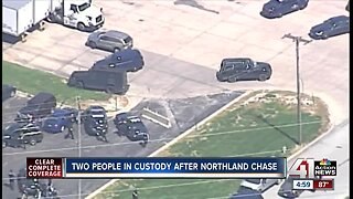 Two in custody after Northland police chase