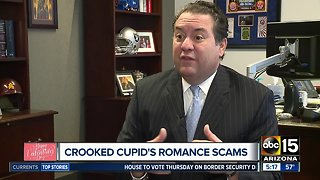 Crooked cupid's romance scams