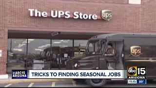 Looking for a job? Many seasonal opportunities starting now - Video