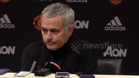 Mourinho fumes over penalty decision in derby defeat