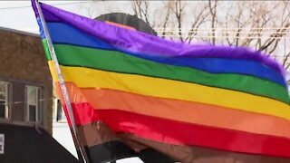 Appleton LGBTQ community and allies come together after homophobic sign was posted