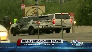 DPS looks for van involved in hit-and-run death - Video