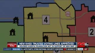New KHSD trustee voting lines approved - Video